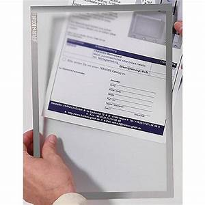 franken self adhesive document holder x traline a4 grey With self adhesive document pouches