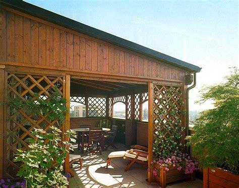 verande da terrazzo verande in legno per terrazzo apribili a libro a terni