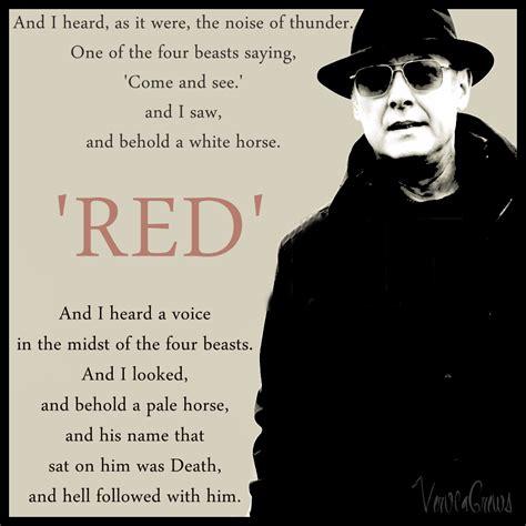 reddington blacklist quotes