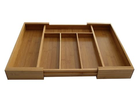 kitchen storage trays bintopia expandable cutlery tray organizer home 3192