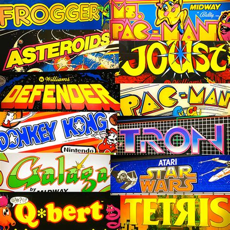 80s the Golden Age of Arcade Games - Video Amusement ...