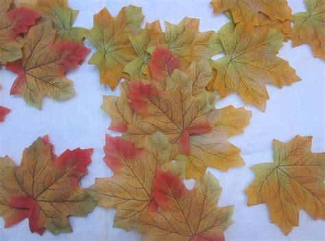 arrive artificial cloth maple leaves multicolor