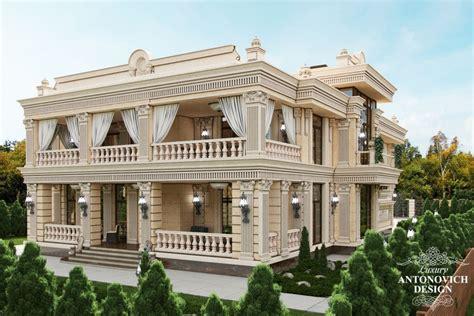 Professional Villas Exterior And Interior Design By Antonovich