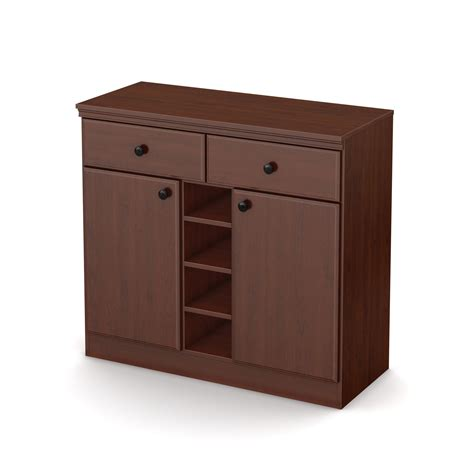 South Shore Storage Cabinet Royal Cherry by South Shore Collection Storage Cabinet