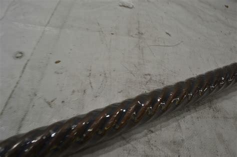 beme international 2 inch diameter twist wood drapery rod