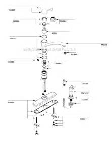 kitchen faucet diagram moen ca87530 parts list and diagram ereplacementparts