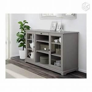 Buffet Salon Ikea : buffet ikea gris liatorp 100 eur ameublement hauts de seine liatorp pinterest ~ Teatrodelosmanantiales.com Idées de Décoration
