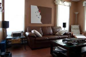 living room living room decorating ideas with dark brown