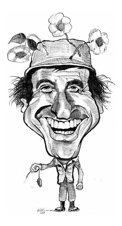Mash Jamie Farr Actor Caricatures Caricature Drawing