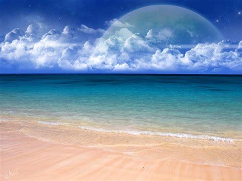 beautiful beach scenery wallpaper  wallpapersafari
