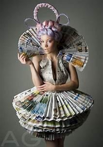 20, Creative, Newspaper, Craft, Fashion, Ideas
