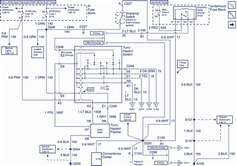 Chevy Motor Wiring Diagram by 1999 Chevrolet Chevy Wiring Diagram Auto Wiring Diagrams