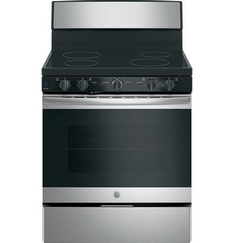 ge  jbdmbb  standing electric radiant smooth cooktop range  appliances