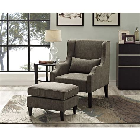 simpli home ashbury wingback linen look polyester club