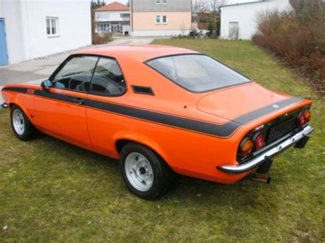 Opel Manta For Sale by 1972 Opel Manta 1 9 Gt E German Cars For Sale
