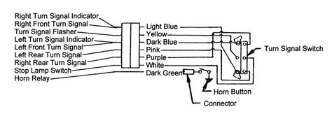 62 Chevy Headlight Switch Diagram Wiring Schematic by Chevy Turn Signal Switch 1955 1957