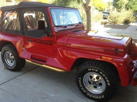 tan jeep wrangler 2 door buy used 1994 jeep wrangler renegade sport utility 2 door