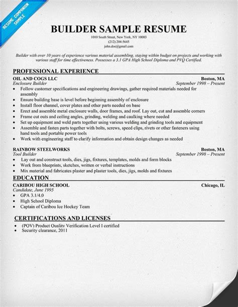 Resume Template Builder by Best 25 Resume Builder Ideas On Resume Ideas