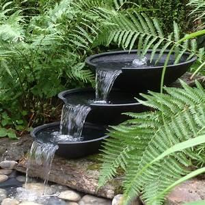 Fontaine Cascade Bassin : ubbink nova scotia cascade 3 vasques fontaine de ~ Premium-room.com Idées de Décoration