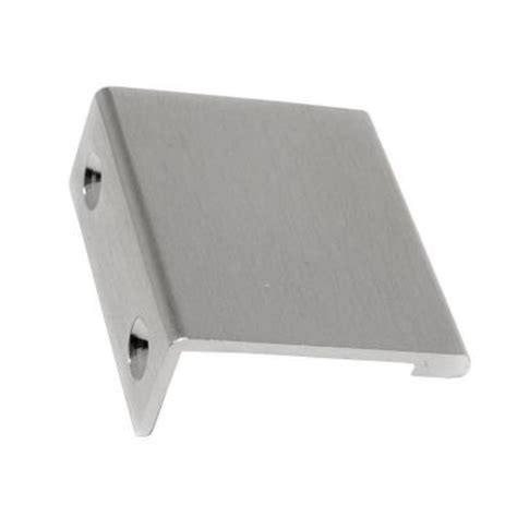 low profile cabinet pulls richelieu hardware 33 mm satin nickel contemporary metal