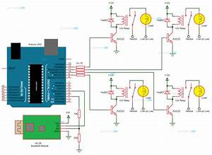 Arduino Home Automation Wiring Diagram