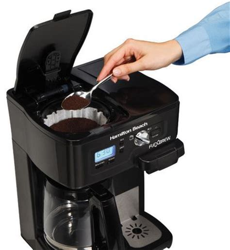 This one is in perfect working condition. Hamilton Beach 12- Cup 2-way Flexbrew Coffee Maker- 49985C   Walmart Canada