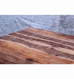 Table Basse Bois Acier : table basse en acier et bois vintage industriel ~ Teatrodelosmanantiales.com Idées de Décoration