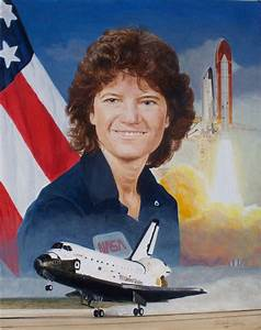 Sally Ride - Portrait by Christopher Paluso - Scientific ...