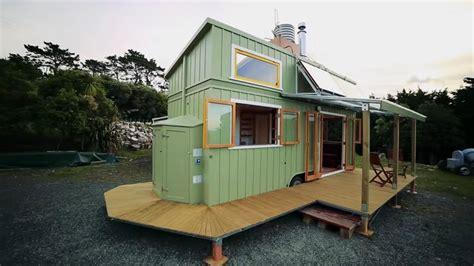 House Built by Custom Tiny House Built For Comfortable Time Living