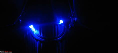 blue led cup coin holder light   extended