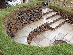 pin af rosa sayas pa great outdoors pinterest With maison en pente forte 1 mur gabion dans le jardin moderne un joli element fonctionnel