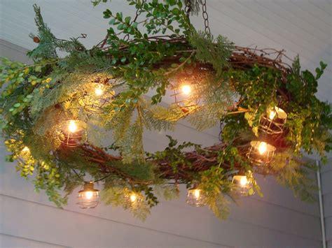 vine wreath decorating ideas grapevine garland decorating ideas rustchic grapevine wreath chandelier wreaths pinterest