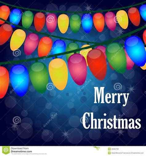christmas lights background stock  image