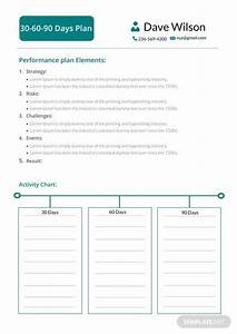 30 day action plan template 30 60 90 day plan template in microsoft word template net