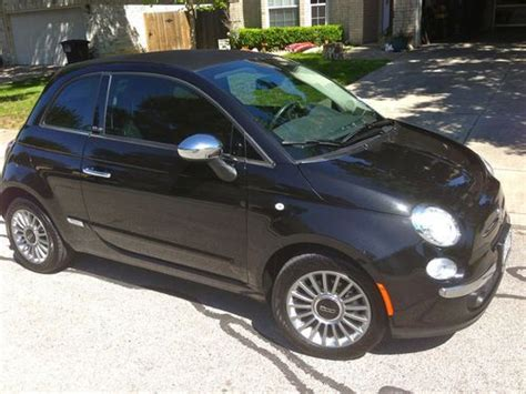 Fiat San Antonio by Buy Used Fiat 500c Lounge Edition Convertible In Nero
