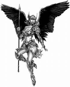 Valkyrie artwork by Mico Suayan for DRONEFACE.ORG | Make ...