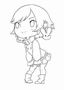 Chibi Line Art Pictures to Pin on Pinterest - PinsDaddy