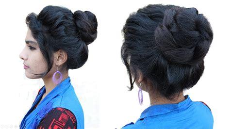 easy messy bun hairstyle messy bun juda hairstyle