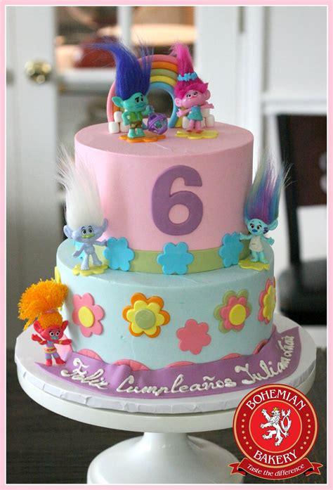 trolls birthday cake bohemian bakery