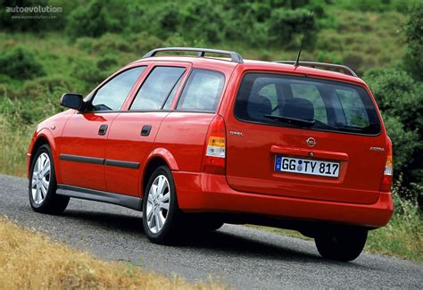 Opel Astra Caravan by 2001 Opel Astra G Caravan Pictures Information And