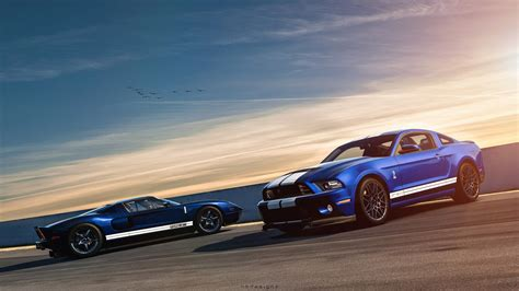 Ford Wallpaper by Ford Mustang Shelby Gt500 Ford Gt Wallpaper Hd Car