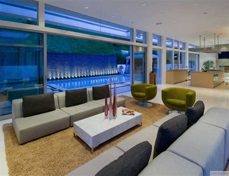Living Room In Pool by Modern Living Room Besides The Pool Interior Design Ideas