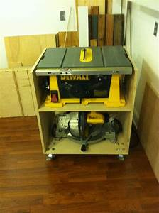 Table saw portable stand Micro Woodworking Shop