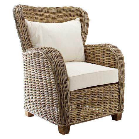 siege en osier fauteuil en osier