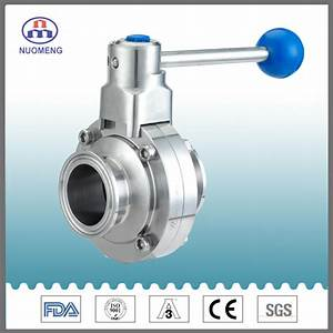 China Sanitary Stainless Steel Ss304  Ss316l Manual