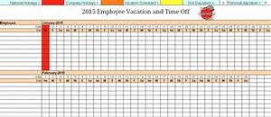 4 vacation schedule templates excel xlts With vacation planning calendar template