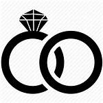 Icon Ring Rings Engagement Marriage Clipart Icons