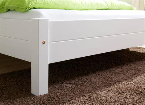 Einzelbett Weiß 100x200 einzelbett 100x200 mod 877901 kiefer weiss h c m 246 bel