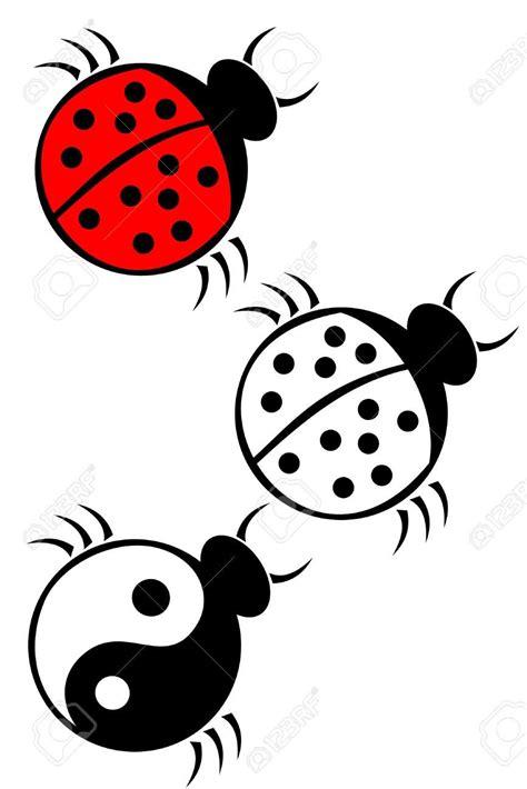 cute ladybird tattoo design ideas