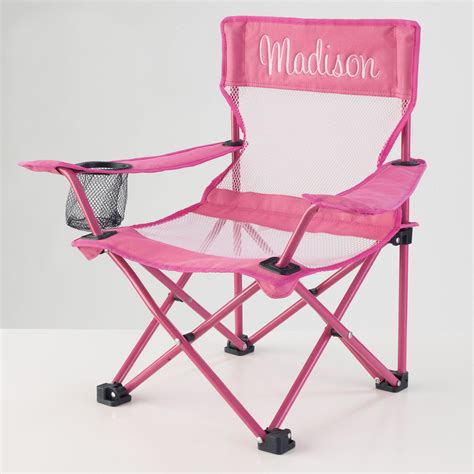 kidkraft personalized pink cing chair outdoor